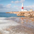 Portland Bill Reflections by Chris Frost Photography