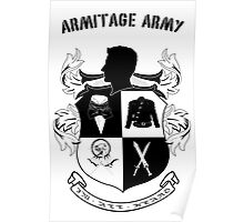 Armitage Army CoA -txt- Poster