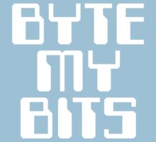 Byte my Bits Kids Clothes