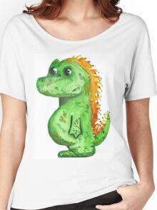 dinosaur by WRTISTIK Women's Relaxed Fit T-Shirt