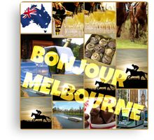Melbourne cup Canvas Print