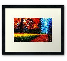 Dream Path Framed Print