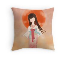 Flying Low Key Throw Pillow