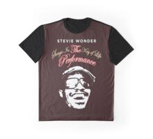 Songs In The key Of Life stevie wonder Tour BDN1 (4) Graphic T-Shirt