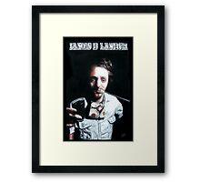 James D Lander Framed Print