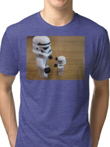 Dave Stormtrooper  Fathers Day Hug Tri-blend T-Shirt