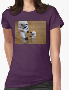 Dave Stormtrooper  Fathers Day Hug Womens Fitted T-Shirt
