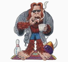 Bigfoot Lebowski by eliwolff