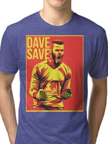 David De Gea Tri-blend T-Shirt