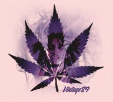 Purple Kush Marley Tee by Vintage89