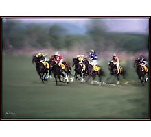 Steeple Chase in Grain Photographic Print