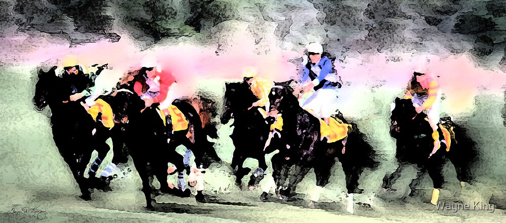 Steeple Chase Colors by Wayne King