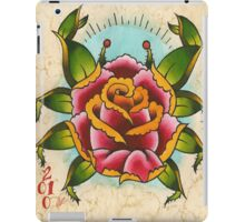 Rose Crab iPad Case/Skin