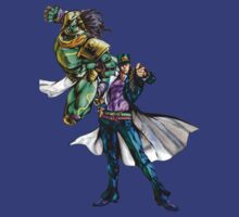 JoJo's Bizarre Adventure - Jotaro Kujo and Star Platinum by Ushiromiya