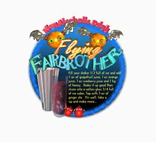 Flying FairBrothers non-alcoholic cocktail drink recipe by Valxart.com Unisex T-Shirt