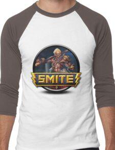 Smite Sun Wukong Logo Men's Baseball ¾ T-Shirt