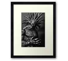 BlackHeart Framed Print