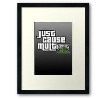JCMP/GTA 5 Logo Framed Print