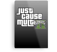 JCMP/GTA 5 Logo Metal Print