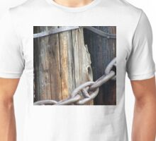 Ocean Pier Piling with Ship's Anchor Chain Unisex T-Shirt