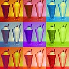 MilkShake Pop Art  by Arts4U