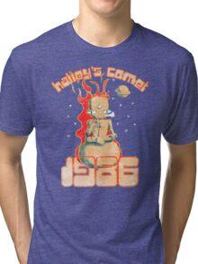 Halley's Comet 1986 - Vintage Tri-blend T-Shirt
