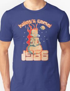 Halley's Comet 1986 - Vintage Unisex T-Shirt