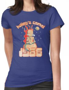 Halley's Comet 1986 - Vintage Womens Fitted T-Shirt