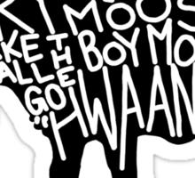 Hwaangh Sticker