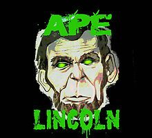 Ape Lincoln Case by Vintage89