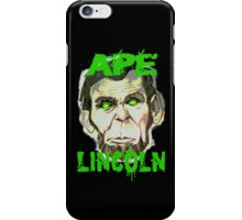 Ape Lincoln Case iPhone Case/Skin