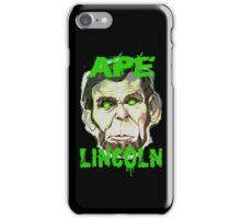 Ape Lincoln Case iPhone Case/Skin