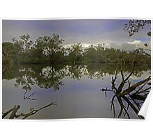 Murray river (Ravernswood) Poster