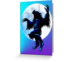 Werewolf On The Loose Greeting Card