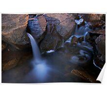 small water fall, bottom of lesuredie falls Poster