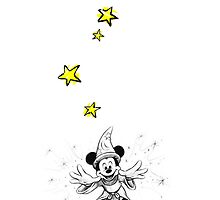 Fantasia - Magic Mickey by ChloeJade