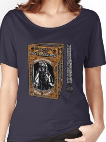 La Santa Muerte Golden Lights Women's Relaxed Fit T-Shirt