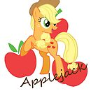 Applejack by littlegreenhat