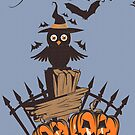 Halloween Owl by favoritedarknes