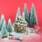 Christmas cupcake by josemanuelerre