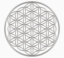 Flower of life - Silver, healing & energizing Kids Clothes