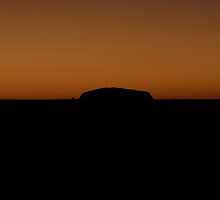 Uluru at Sunrise by Steve Randall