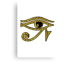 EYE OF HORUS - Protection Amulet Canvas Print