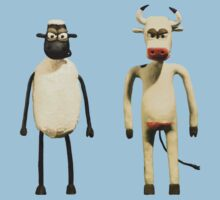Animal Instincts - Sheep and Cow #2 Kids Clothes