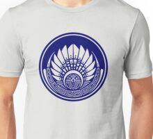 Mayan mask, crop circle, Quetzalcoatl Unisex T-Shirt