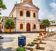 Our Lady of Carmel Church, Macau by Patricia  Soon