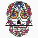 Santa Muerte mexican skull by dadawan