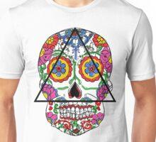 Santa Muerte mexican skull Unisex T-Shirt