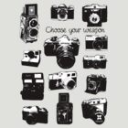 Vintage film cameras chose your weapon by dadawan