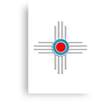 Zia Sun - Zia Pueblo - New Mexico Canvas Print